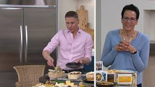 Sun Basket (3) Oven or Microwave Ready Fresh/Frozen on QVC