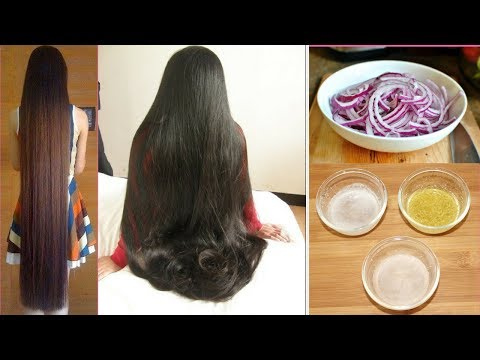 How to Grow Long, Thick and Healthy Hair Naturally- World's Best Hair Growth Secret   Works 100%