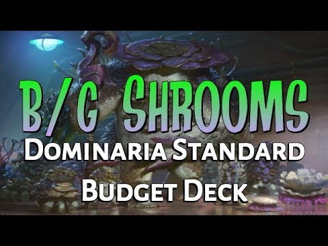 Mtg Budget Deck Tech: B/G Saprolings in Dominaria Standard!