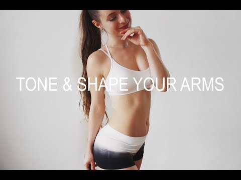 Tone & Shape Your Arms ❤ Best Arm Workout At Home