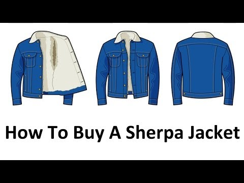 How To Buy A Sherpa Jacket - Men's Denim Cotton Sherpa Jackets Video Guide - Lee Jeans