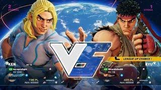 Street Fighter V - Rafael (ken) Vs Ricardinho66 (ryu)