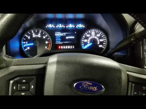 2015 Ford F-150 Oil life reset