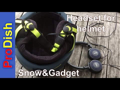 Quality Headset For  SKI/Snowboard Helmet - Bluetooth & Wired