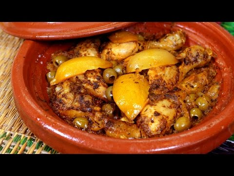 Chicken Tagine Mchermel  / طاجين الدجاج مشرمل - CookingWithAlia - Episode 409