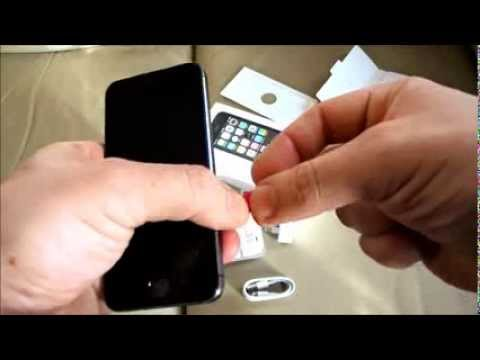 iPhone 5s How to Insert & Remove a nano size phone SIM Card