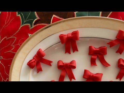 How To Make Fondant Bows