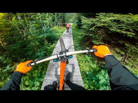 Downhill Crankworx Innsbruck 2018 -  Course Preview Fabio Wibmer