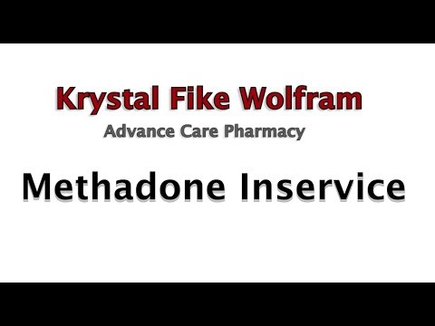 Methadone for Pain Management Inservice