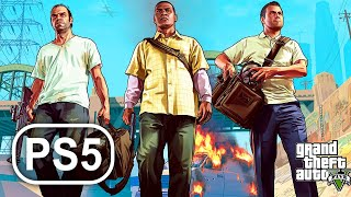 GTA 5 PS5 Gameplay Walkthrough Grand Theft Auto 5 Full Game No Commentary