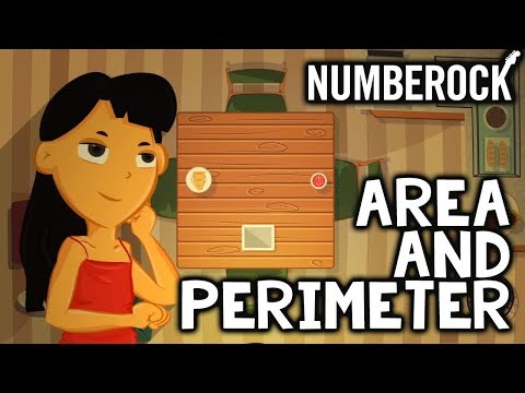 Area and Perimeter Song For Kids: 3rd-4th Grade Math by NUMBEROCK