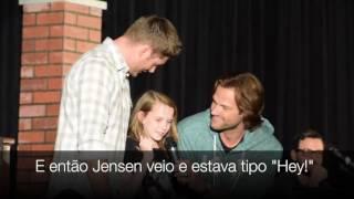 Jared e Jensen sobre monstros que eles seriam na série - ChiCon (11/09/2016 - Chicago)