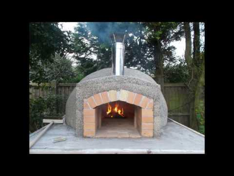 Wood Fired Outdoor Pompeii Pizza Oven, My Oven Construction