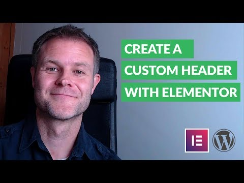 How to Create Your Own Custom Header with Elementor
