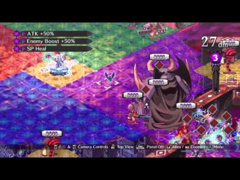 Disgaea 5 Carnage Baal Defeated in One Turn