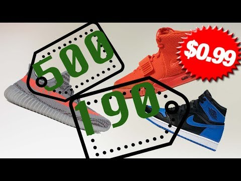 Where to BUY SNEAKERS for CHEAP!!! NEVER Overpay Again!  MUST WATCH