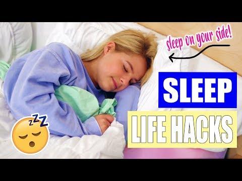 Sleep Life hacks: How to fall asleep FAST!