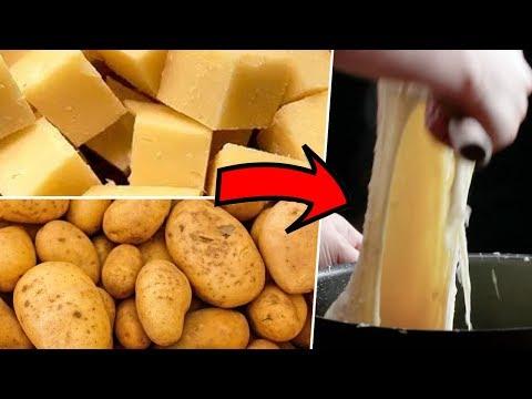 Aligot (Cheesy Potatos) Review- Buzzfeed Test #113