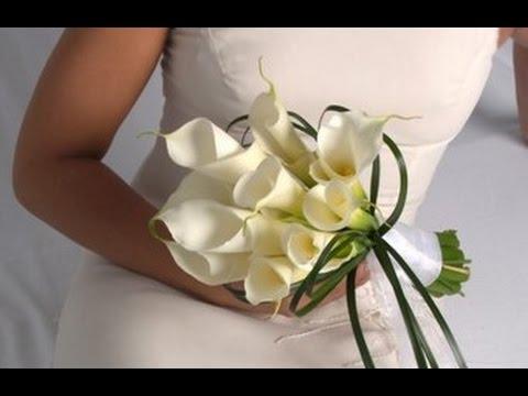 Calla Lilies Bouquet Wedding