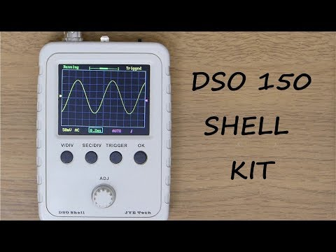 DSO Shell (DSO150) 15001K  Oscilloscope  | Electronic kit build