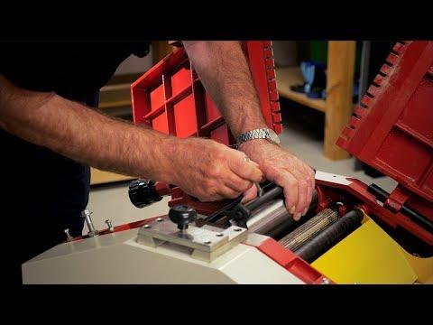 Planer Thicknesser Blade Change - Demonstration