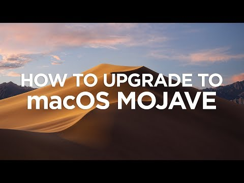 How To Upgrade Your Mac to OS Mojave