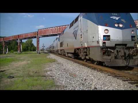 Amtrak 20 & 19 Bessemer, AL 8-25-17