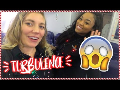 Worst Turbulance Ever!! | VLOGMAS DAY 20