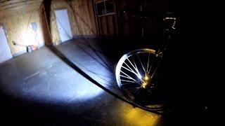 e14ccf794b1 Light And Motion Urban 500 vs. Zebralight SC62w Beamshot Bike Blogger