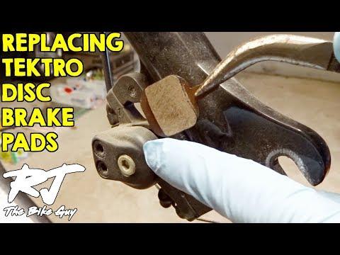 How To Replace Brake Pads On Tektro Io Disc Brakes