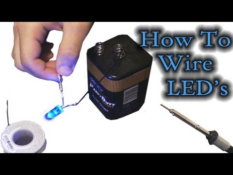 How To wire LED's