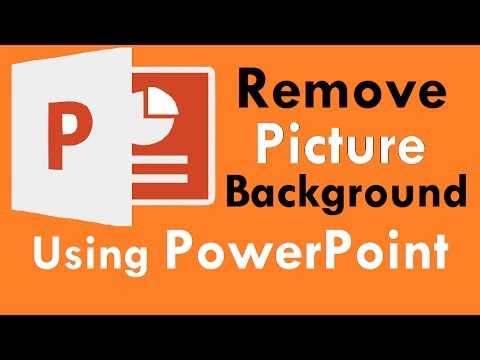 How to Remove Photos Background Color Using PowerPoint
