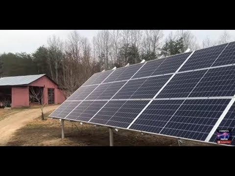 20KW off grid solar install on country farm with generator back up by Off Grid Contracting