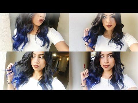 Blue| Ombre Hair ! Manic Panic (Rockability Blue)
