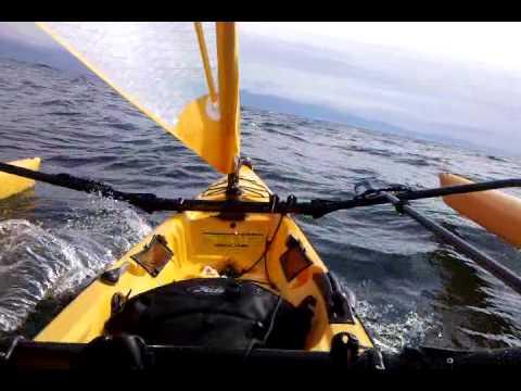 Tandem Island solo sailing Sooke