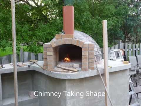 Building a Authentic Italian Wood-Burning Pizza Oven