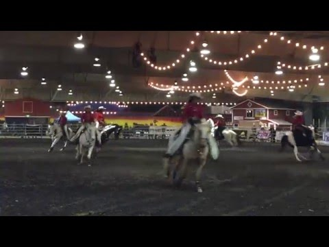 Norco Cowgirls Drill Team at the Ultimate Super Horse Challenge Pomona 2016