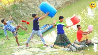 New Top Funny Comedy Video 2020__Very Funny Stupid Boys__Episode--106--Indian Fun || ME Tv