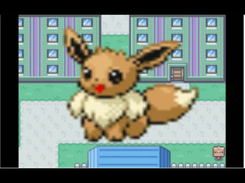 How To Get Eevee in Pokémon FireRed/LeafGreen Version