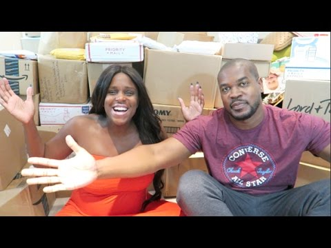 OUR HUGE TWIN VIRTUAL BABY SHOWER! (PART #1) | GIFTS FROM OUR YOUTUBE #FAMBAM! | THANK YOU!