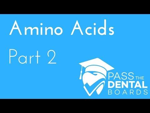 Amino Acids part 2 - Specific Qualities - BIOCHEMISTRY - NBDE