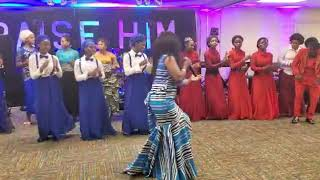 Mariamu Mutwale Performs Usiogope At Praise Him Concert  2019 Nashville Tennessee
