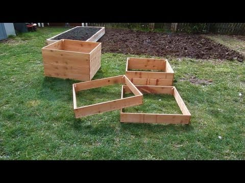 No-dig Potato Boxes
