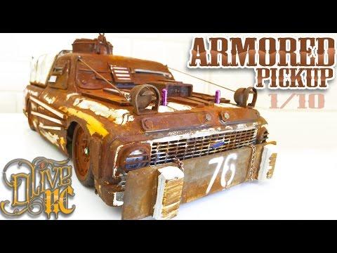 RC DRIFT CAR - POST APOCALYPTIC PICKUP