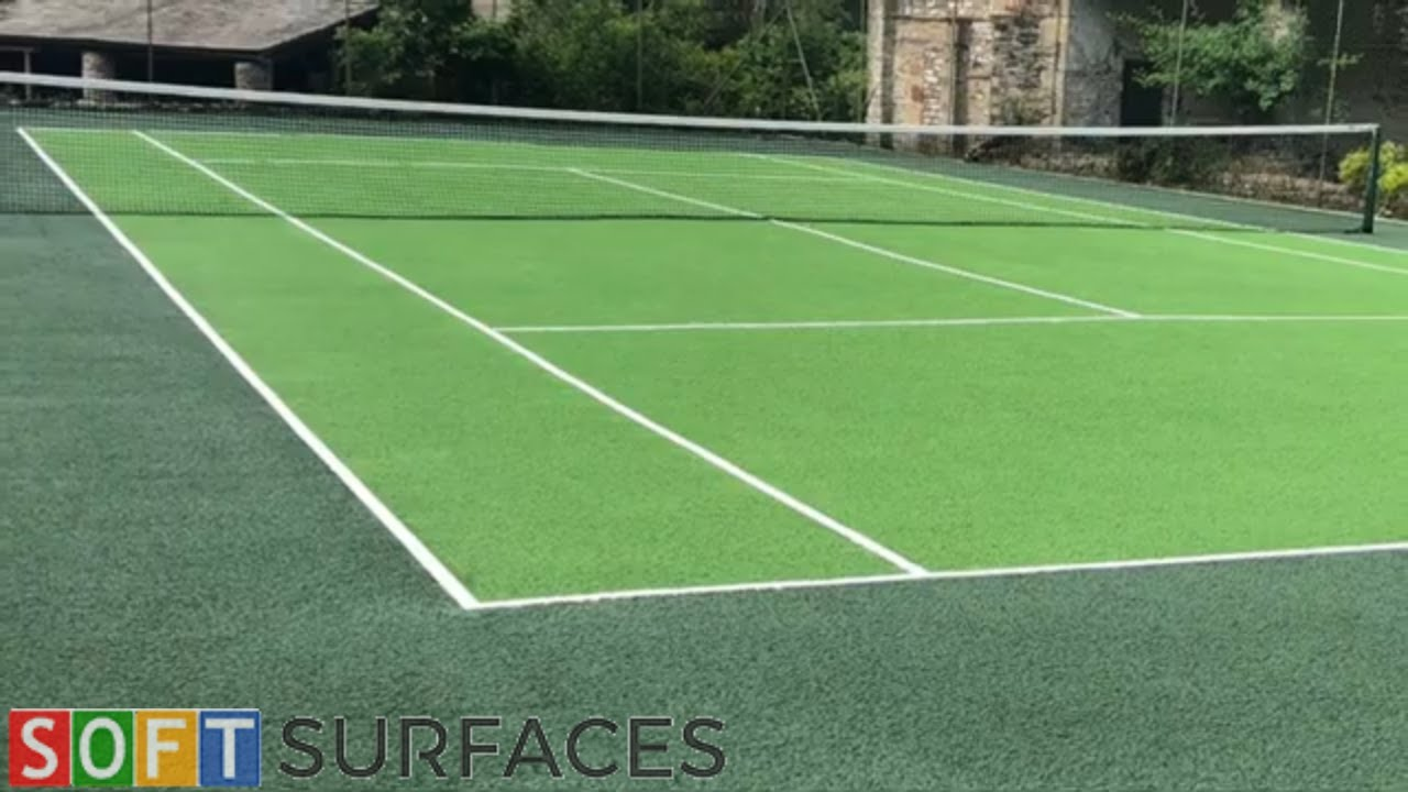 Tennis Court Surfacing Rejuvenation in Newcastle, Tyne & Wear | Clean & Paint Job