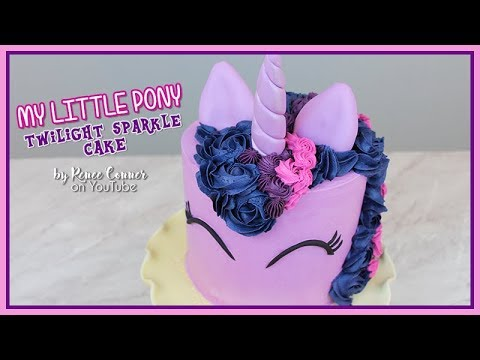 Twilight Sparkle Cake | Renee Conner