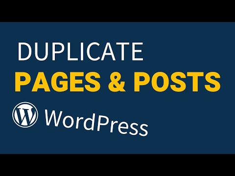 How to Duplicate WordPress Pages & Posts Fast! [2018]