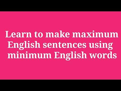 Sentence Bank by ENGLISH गुरू
