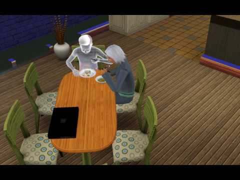 Ghost coming back to life with Ambrosia - The Sims 3