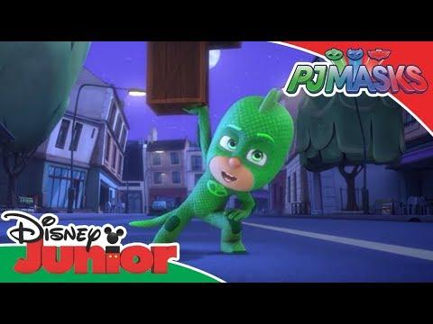 PJ Masks: Supermúsculos de Gekko | Disney Junior Oficial